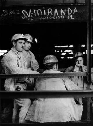 Marokkaanse mijnwerkers in Limburg
