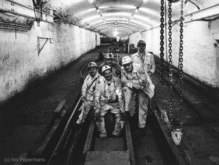 De laatste werkdagen ondergronds. (Fotograaf: Nol Pepermans)