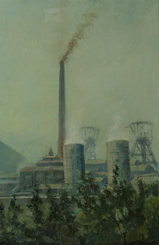 Willem-Sophia, schilderij van George Tielens (1948)