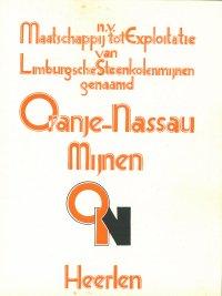 De Oranje-Nassau Mijnen in inkt en aquarel