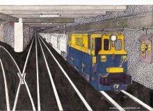 Fotoalbum: Getekende treinen door Jo Schoenmakers