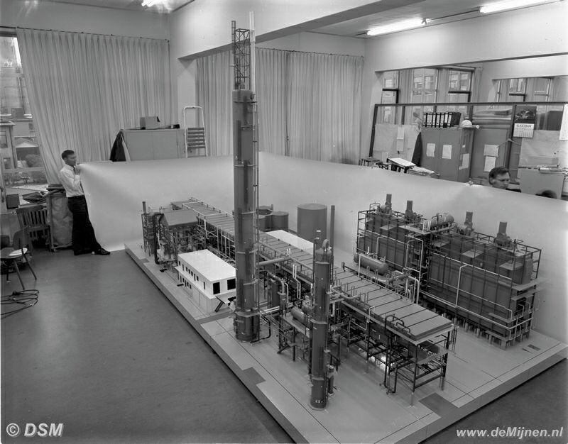 Dsm Keukens Fabriek : Maquette Methanol fabriek Delfzijl DE MIJNEN